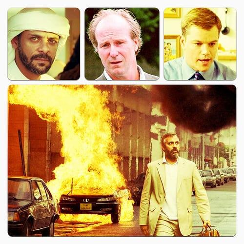 George Clooney, Alexander Siddig, Matt Damon, William Hurt
