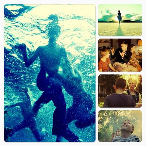 Brad Pitt, Jessica Chastain