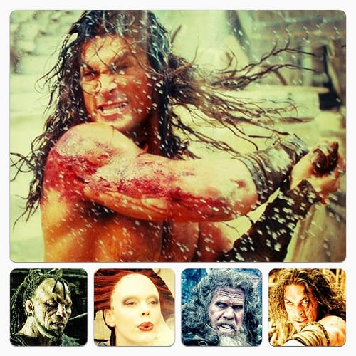 Jason Momoa, Rose McGowan, Ron Perlman