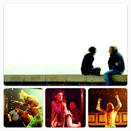 Mickey Rourke, Evan Rachel Wood, Marisa Tomei